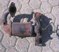 Ford Fiesta JD BJ 2004 Abgaskrümmer Katalysator 1.3 51KW 4S61-5G232-MA