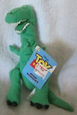 DISNEY~ TOY STORY - REX -1995 - Mini Buddy Thinkway Toys~Bean Bag Doll~ NEW