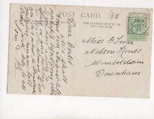 Miss Gertie Forster Nelson House Wimbotsham Downham 1905 100b