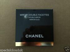 Nuevo CHANEL MIROIR doble de doble espejo 100% Auténtico al día siguiente