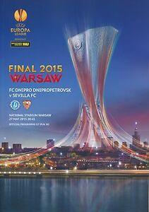 UEFA EUROPA LEAGUE FINAL 2015 Dnipro Dnipropetrovsk v Sevilla