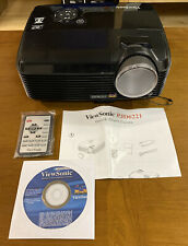 ViewSonic PJD6221 DLP 3D Projector - Barely Used - Great Lamp, Unused Remote