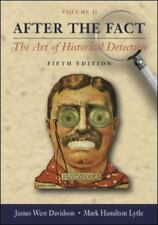 After the Fact, Volume II, with Primary Source Investigator CD: The Art of Histo