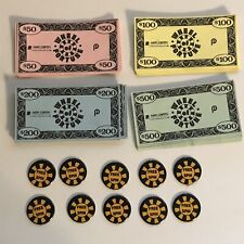 Replacement Parts Money Free Spin Tokens Wheel Of Fortune Board Game 1985 VTG