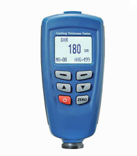 GEM DT-156 Paint Coating Thickness Meter Tester Auto F/NF Probe Tester 1250um