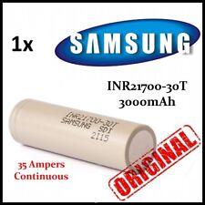 Samsung INR21700-30T 3000mAh 35A Flat Top Battery iJoy Innokin Sigelei Vape SMOK
