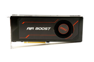 MSI Radeon RX Vega 56 8GB Air Boost OC HBM2 Graphics Card - B1, Fan Defect
