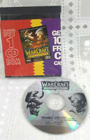 Warcraft Orcs & Humans PC CD-Rom Vintage Game War Craft Fantasy Strategy Game