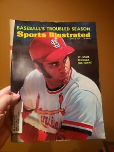 Sports Illustrated April 10, 1972 Baseball Season Preview Joe Torre Cover