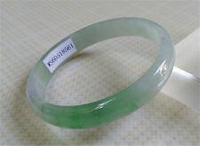 Certified 100% Natural Lavender GREEN Jadeite JADE Bracelet Bangle 55.3mm