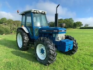 Ford 7810 tractor series 11 tractor 4wd 6 cylinder genuine tractor no vat