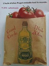 PUBLICITE PUGET HUILE D'OLIVE VIERGE EXTRA TOMATE ROUGE DE 1989 FRENCH AD PUB