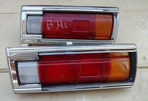 DATSUN SUNNY B310 SEDAN MODEL 1978 80 TAIL REAR LIGHTS PAIR IKI 4188