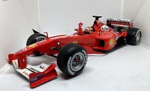 1/18 F1 Hotwheels Ferrari F1-2000 Michael Schumacher World champion Edition