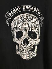 Penny Dreadful Skull Showtime Graphic Black T Shirt Size 5XL Gildan Tee