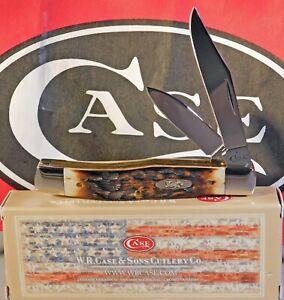 Case XX Texas Jack Knife 2018 Carbon Blades KNIFE #63032 USA MADE