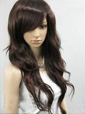 FIXSF245 new vogue long brown hair wigs for women wig