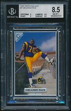 1997 Topps Gallery rookie #1 Orlando Pace rc BGS 8.5
