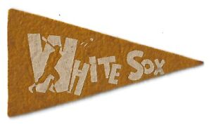 Chicago White Sox BF3 Mini Pennant Red Ball Gum Baseball 1936 1937 1938 1930s