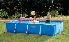 INTEX Rectangular Metal Frame Swimming Pool