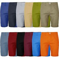 Mens Chino Shorts Bottom Knee Length Cargo Combat Pant Cotton Summer Roll Up