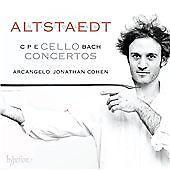 C P E Bach:Cello Concertos [Nicolas Altstaedt; Arcangelo,Jonathan Cohen] [HYPERI