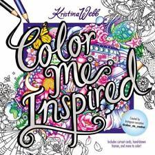 Color Me Inspired by Kristina Webb (2016, Paperback)