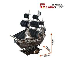 Cardboard 3D Puzzle T4005h The Queen Anne's Revenge Hobbies Toy