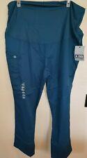 men women Dark Jade New Nwt Plus size 2X Scrubs Pants Uniform Scrubs tummy panel
