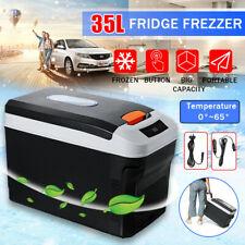 20/35L Portable Mini Refrigerator 12/24/240V Car Camping Home Fridge Picnic