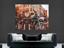 VINTAGE MOTORBIKES MOTORCYCYCLES  CLASSIC  GIANT ART PRINT POSTER PICTURE