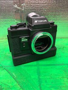(2) 1960's VINTAGE TOPCON MT2 35mm SLR camera body for Ophthalmology, Motorized