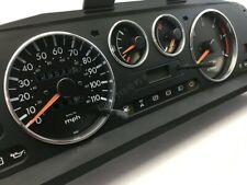 Ford Maverick Chrome Gauge Trim Dial Rings Polished Alloy New 4pcs