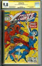 X-FORCE #11 CGC 9.8 WHITE PAGES // 1ST REAL DOMINO / SIGNED BY LIEFELD + NICIEZA
