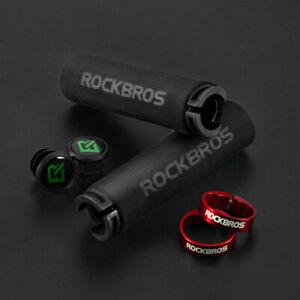 ROCKBROS Bicycle Handlebar Grips Cycling MTB BXM Bike Silicone Sponge Soft Grips