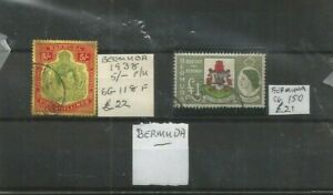 BERMUDA STAMPS HIGH VALUES