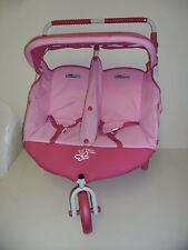 Display Valco Dolls Pram stroller Twin Marathon Trimode Warranty Sturdy