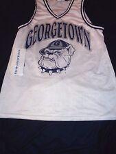 MAJESTIC GEORGETOWN HOYAS NCAA Basketball Jersey SIZE MEDIUM Adult vintage Blank