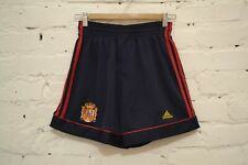 VINTAGE SPAIN NATIONAL TEAM HOME FOOTBALL SHORTS 1998/1999  SOCCER ADIDAS MENS M