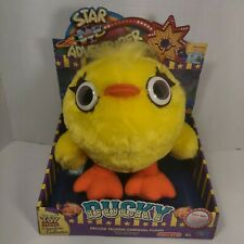 Toy Story 4 Ducky Deluxe Talking Carnival Plush Signature Collection