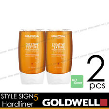 Goldwell Hardliner Style SIGN 5 Texture Acrylic Gel 150ml NEW 2pcs