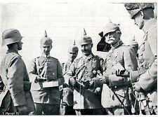 20.-24.Sept. 1917 * Kaiser Wilhelm II. an der rumänischen Front *  1917