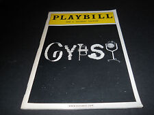 JUNE 2004  PLAYBILL, GYPSY, SAM S. SHUBERT THEATRE, BERNADETTE PETERS