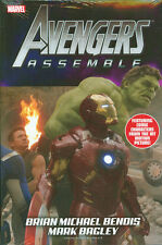 AVENGERS ASSEMBLE by BRIAN BENDIS HARDCOVER Marvel Comics DM MOVIE VARIANT HC