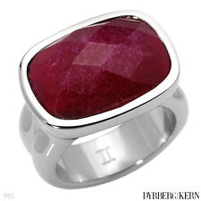 DYRBERG/KERN of DENMARK! Malindi Collection New Shiny Silver Finished Ring