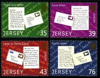 JERSEY 2008 EUROPA THE LETTER SET OF ALL 4 COMMEMORATIVE STAMPS MNH