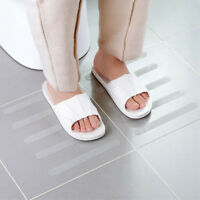 5Pcs Transparent Waterproof Non-slip Stickers Strips For Bathroom Bathtub Stairs