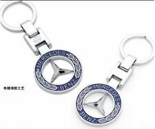 2X Mercedes Benz Key Chain Best Mercedes Key Ring Both Side Mercedes Brand Logo