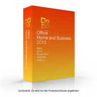 Microsoft Office 2010 Home and Business MS HB esd sofort Word Exel Outlook