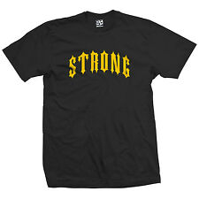 Strong Outlaw T-Shirt - Strength Gym Workout Lift Heavy Tee - All Sizes & Colors